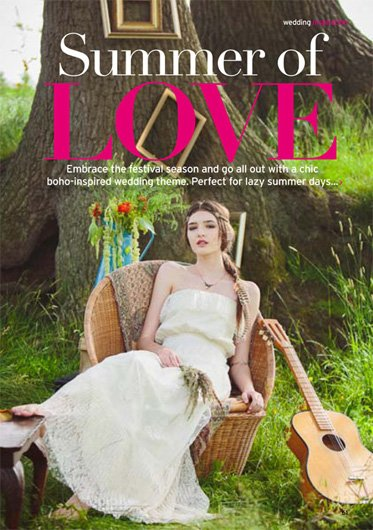 Perfect Wedding Press with the Festival Brides