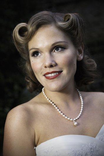 Vintage Bridal Makeup by Lucy Jayne. kent bride