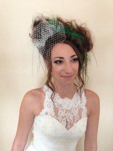 Cool Alternative Bridal Makeup in Kent