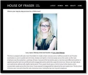 House Of Fraser Beauty Blog
