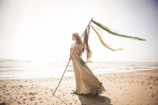 Festival Brides Beach Shoot Photographer Heline Bekker Makeup Lucy Jayne