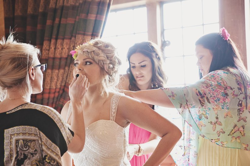boho bridal makeup by lucy jayne