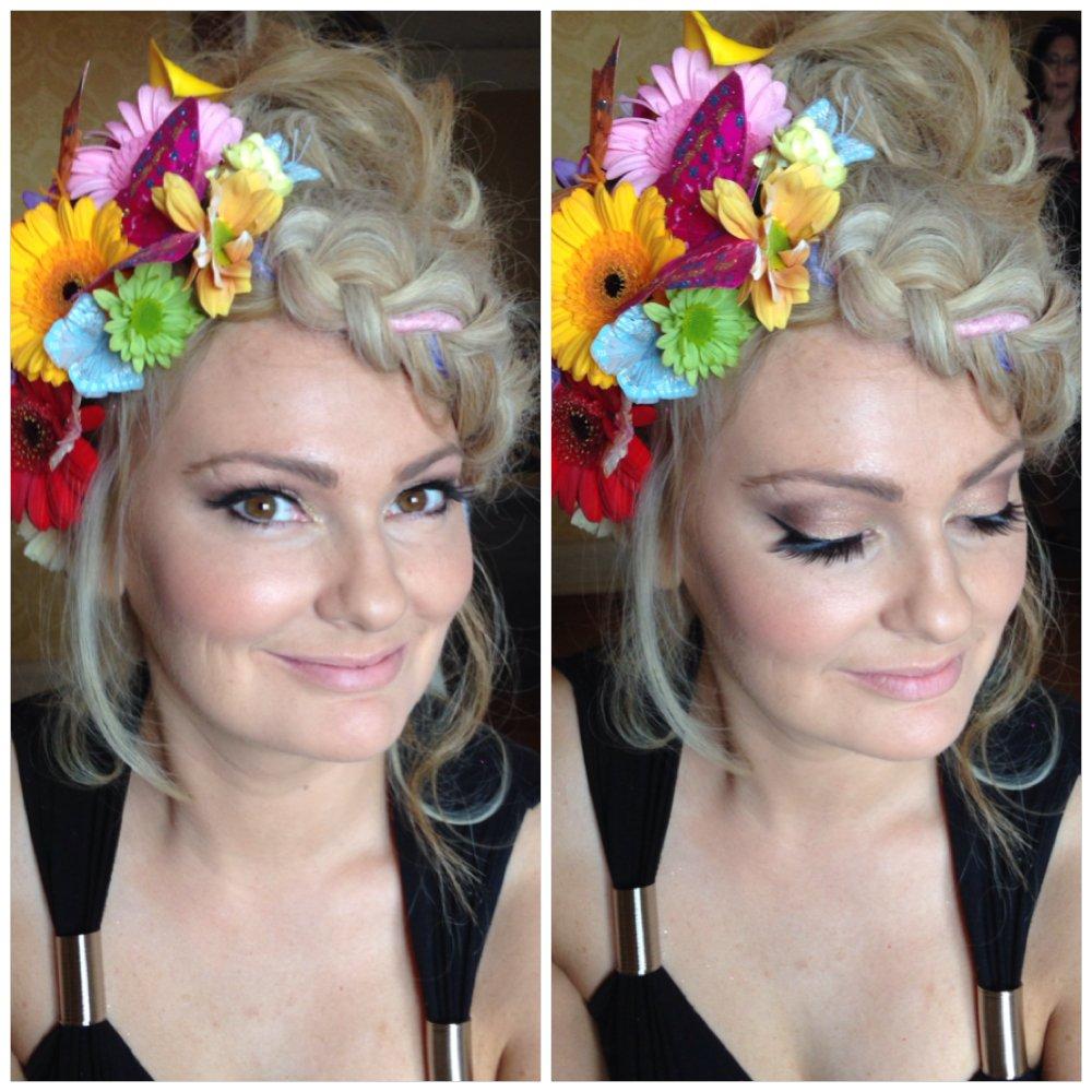 Boho Bridal Makeup in Kent