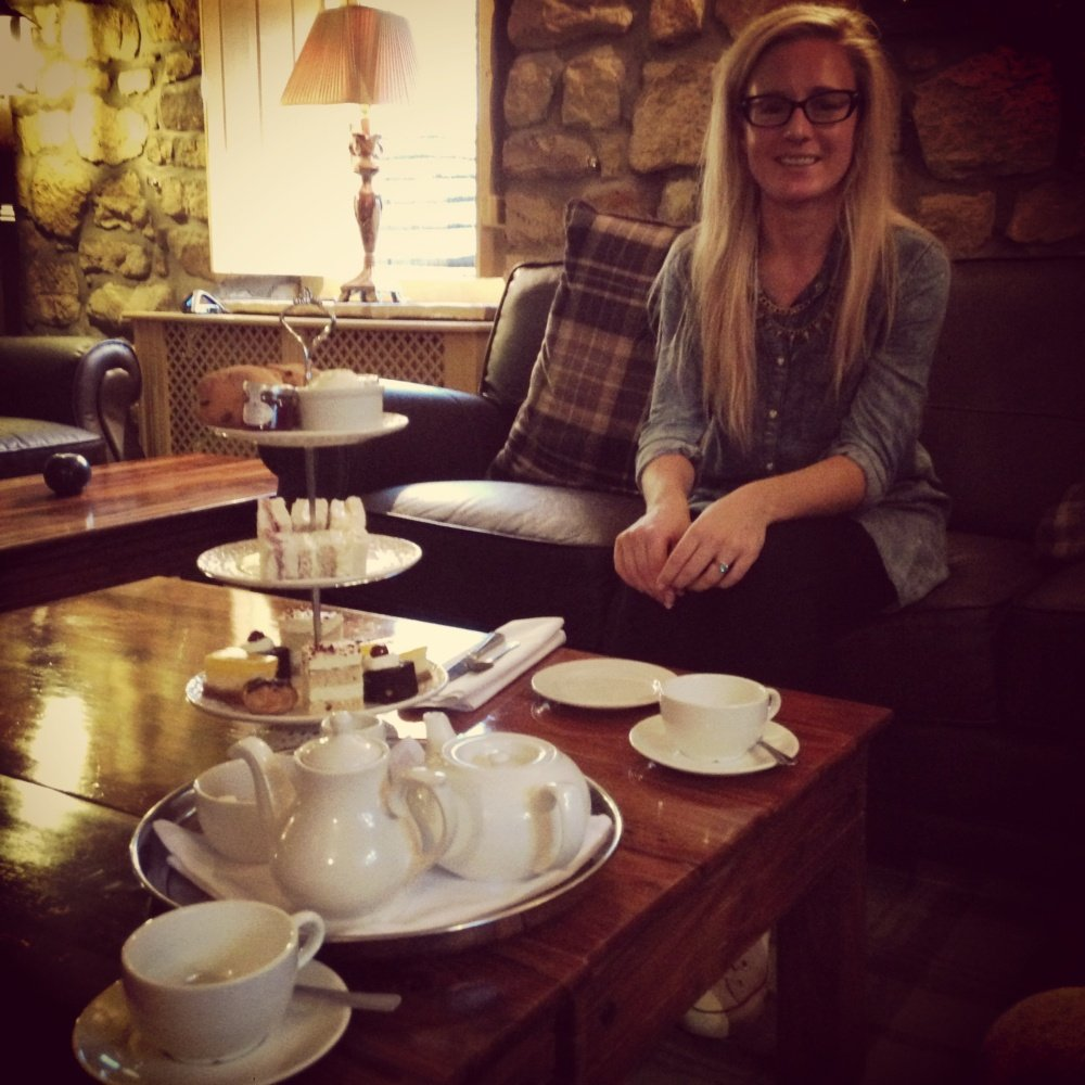 Afternoon Tea at Ox Pasture Hotel Yorkshire