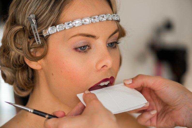 20s bridal makeup tutorial