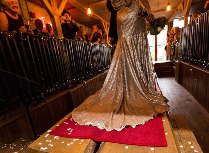Bridal Inspiration: My Gorgeous Gold Wedding Dress!! (2014)