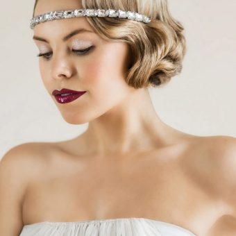 Dazzling 1920s Bridal Makeup Tutorial