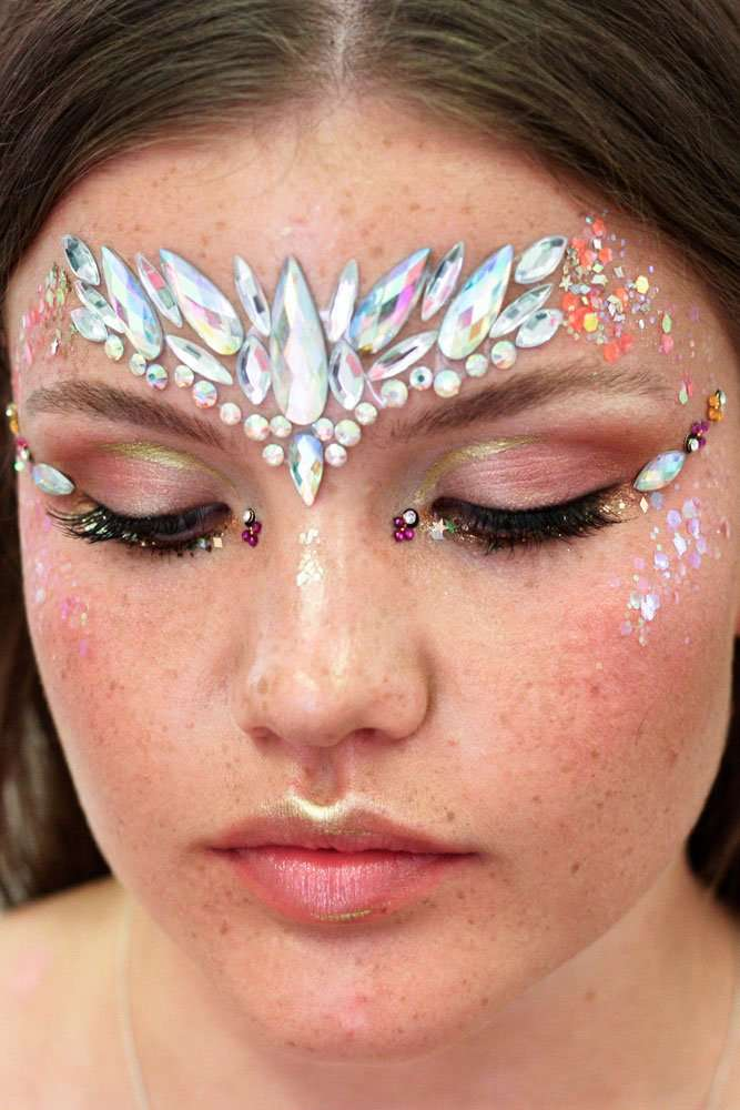 festival makeup artist in kent