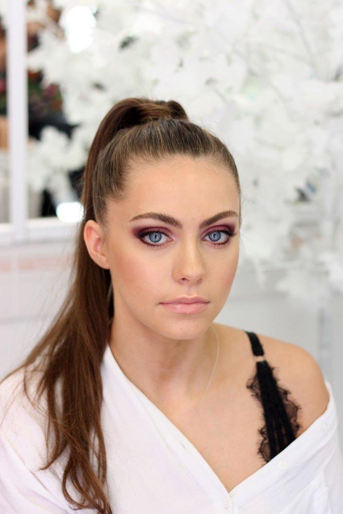 red carpet glam makeup look
