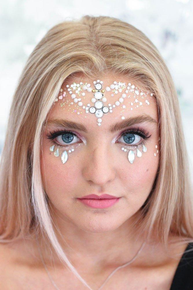 festival makeup lesson