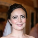classic bridal makeup old kent barn wedding