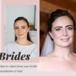 bridal makeup trial